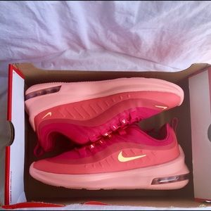 NEW Women's Nike Air Max Axis Shoes Pink/Melon
